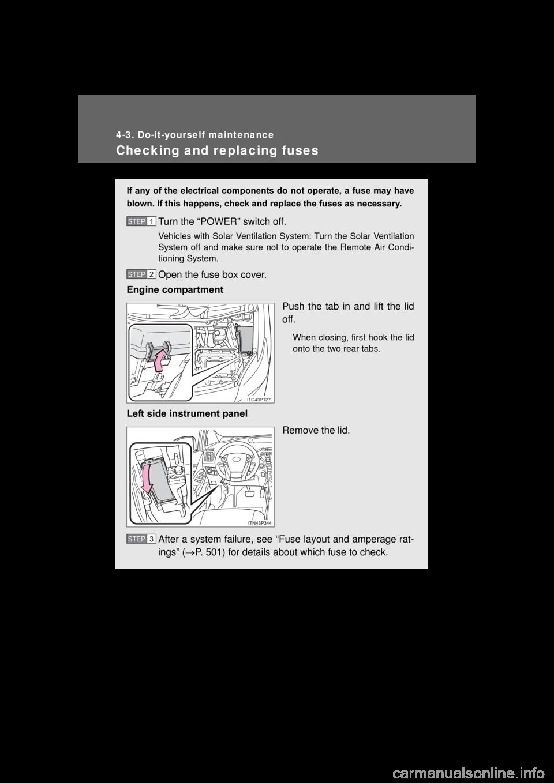 Toyota prius plug in hybrid g owners manual