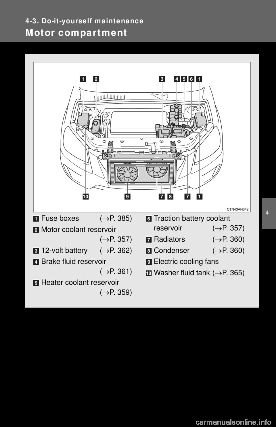 TOYOTA RAV4 EV 2013 1.G Owners Manual, Page 355