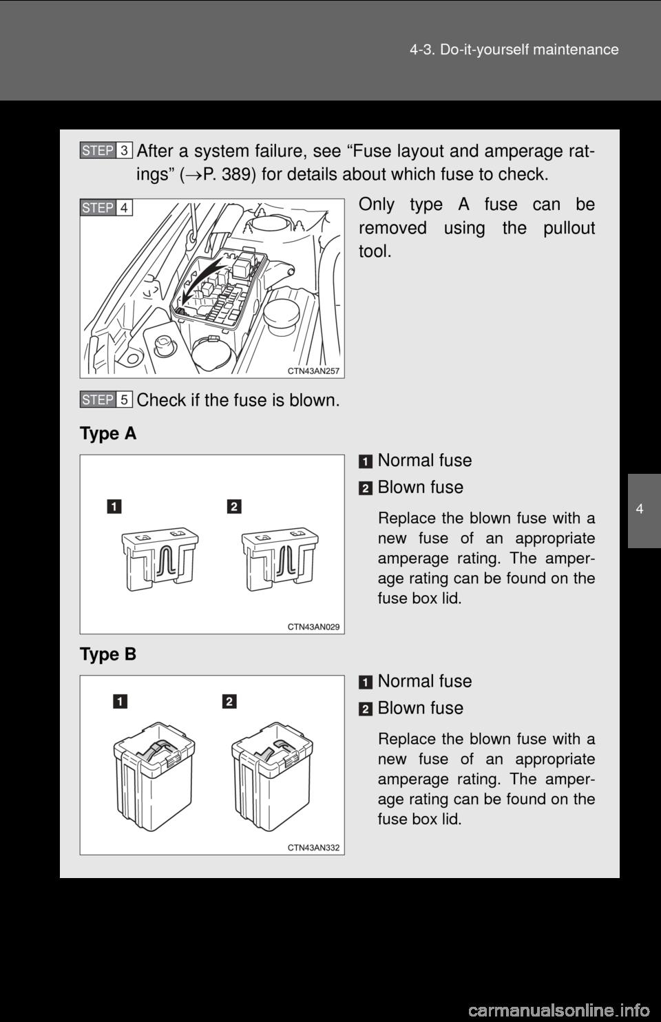 TOYOTA RAV4 EV 2013 1.G Owners Manual, Page 387