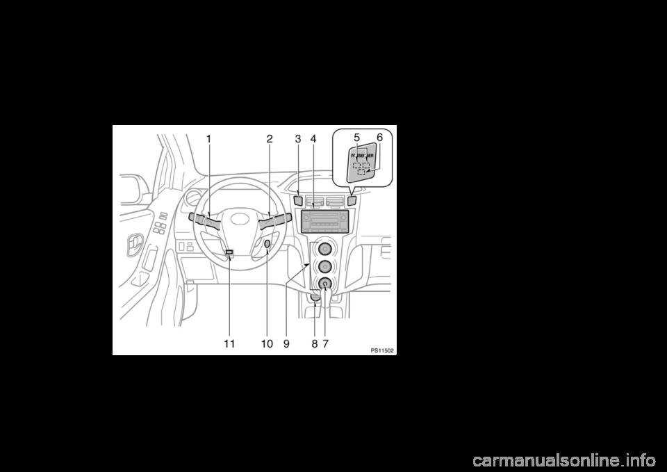 TOYOTA YARIS 2006 2G Owners Manual