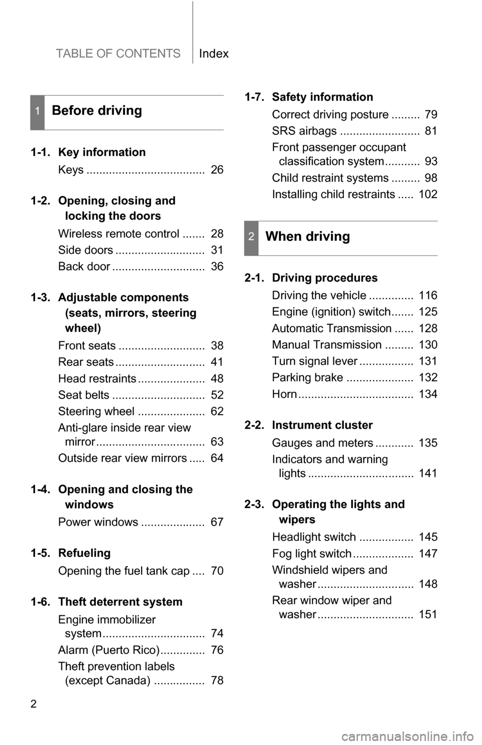 toyota yaris owners manual pdf