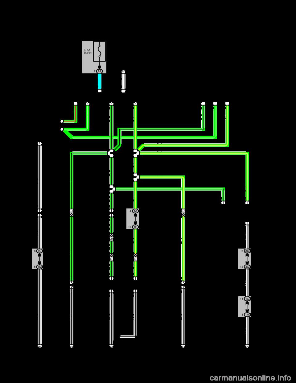 Warning Toyota Camry 1994 Xv10 4 G Wiring Diagrams