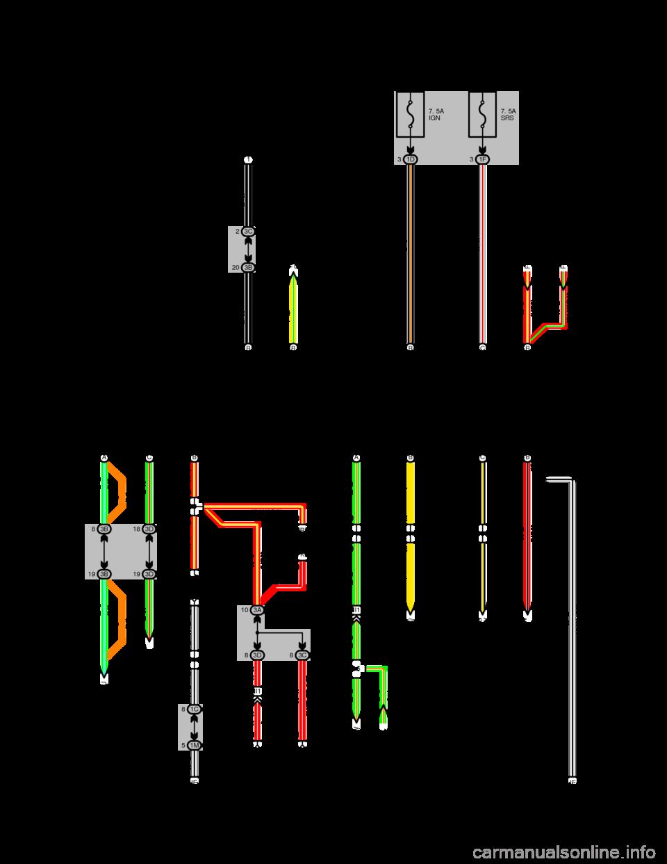 Brake Fluid Toyota Camry 1994 Xv10 4g Wiring Diagrams Workshop Manual Warning Indicator Light Diagram G Page 237