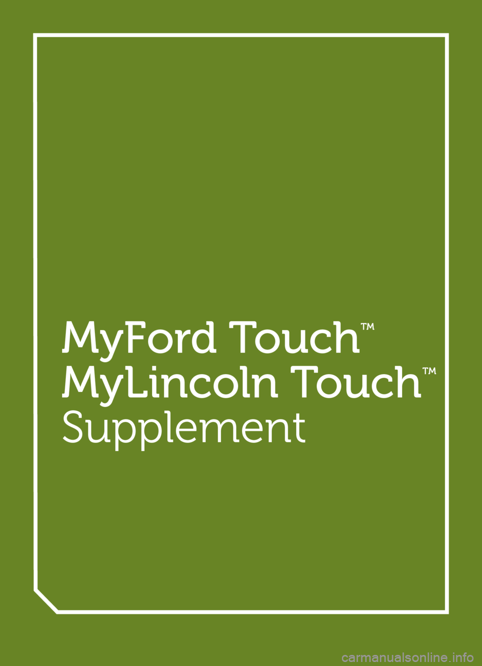 mylincoln touch