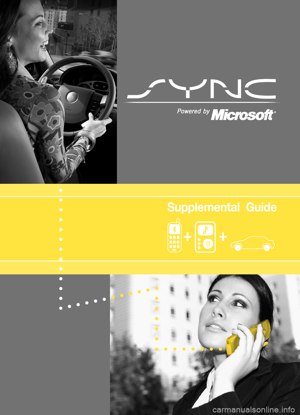 LINCOLN MKZ 2008  SYNC Supplement Manual, Page 1