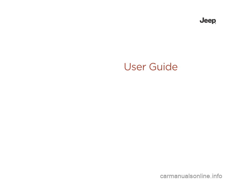 JEEP CHEROKEE 2014 KL / 5.G User Guide, Page 1