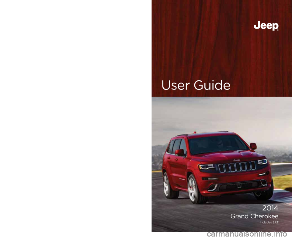 jeep grand cherokee 2014 wk2    4 g user guide