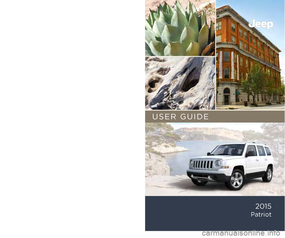 JEEP PATRIOT 2015 1.G User Guide, Page 1