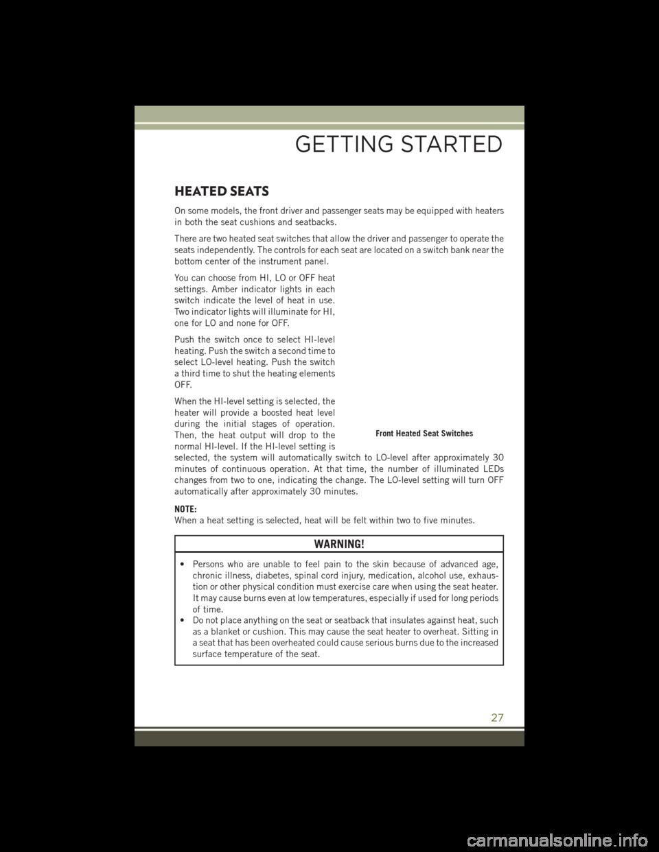 Esp Jeep Wrangler 2016 Jk 3g User Guide Dash Warning Lights Page 29