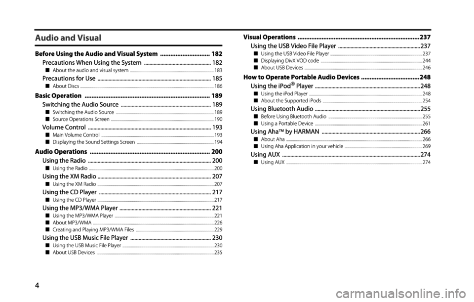 SUBARU BRZ 2015 1.G Navigation Manual, Page 5
