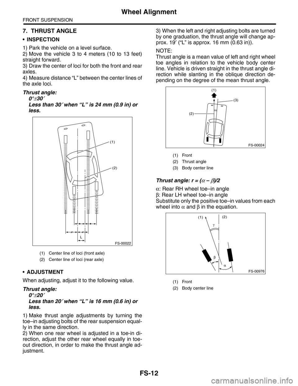 Subaru Tribeca 2009 1g Service Workshop Manual Front Axle Diagram Page 860