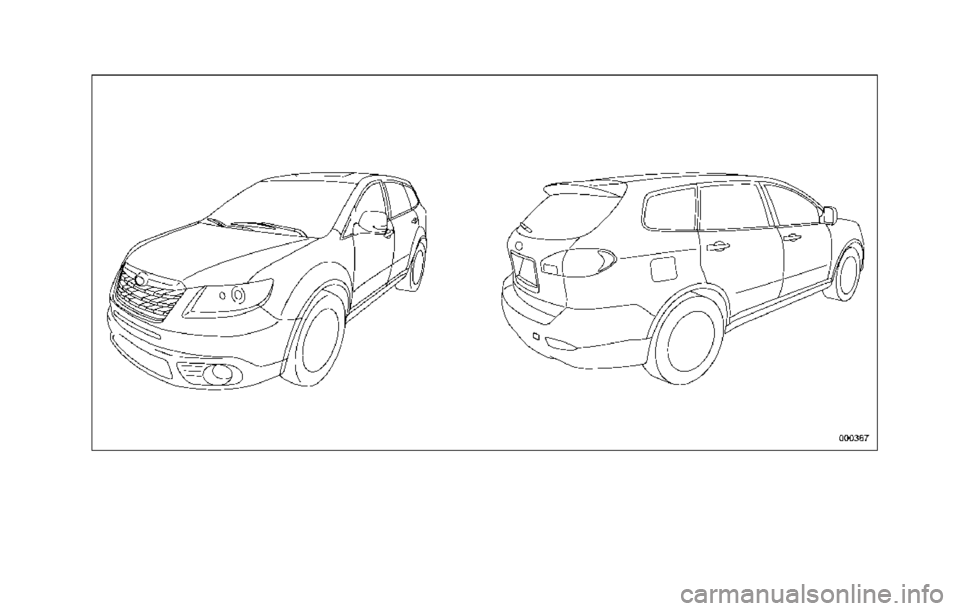 SUBARU TRIBECA 2014 1.G Owners Manual, Page 4
