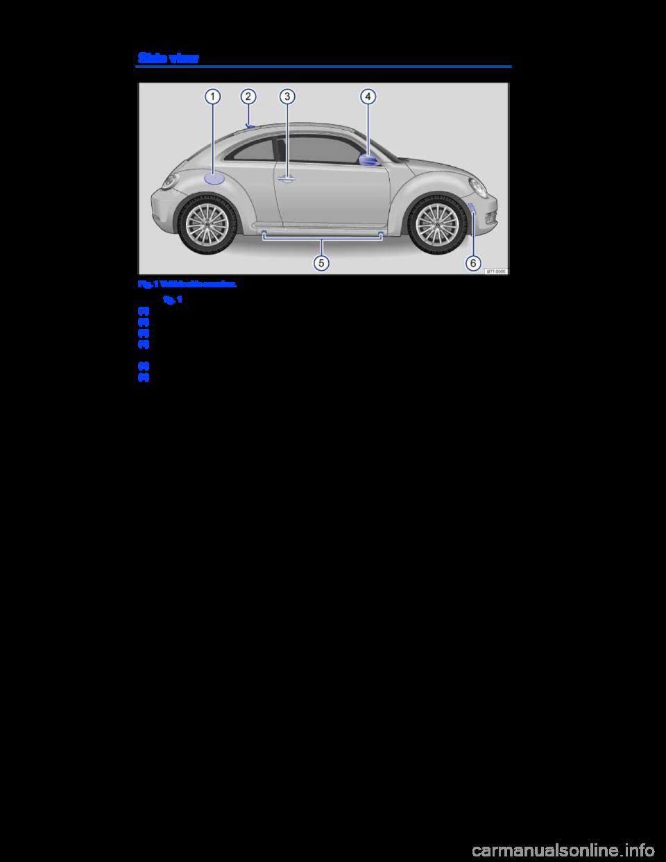 Volkswagen Beetle 2014 3 G Owners Manual border=