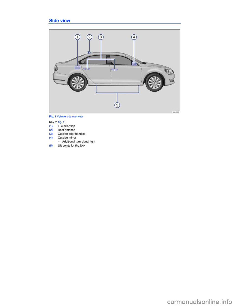 Volkswagen Passat 2014 B8 6g Owners Manual 2013 Engine Diagram