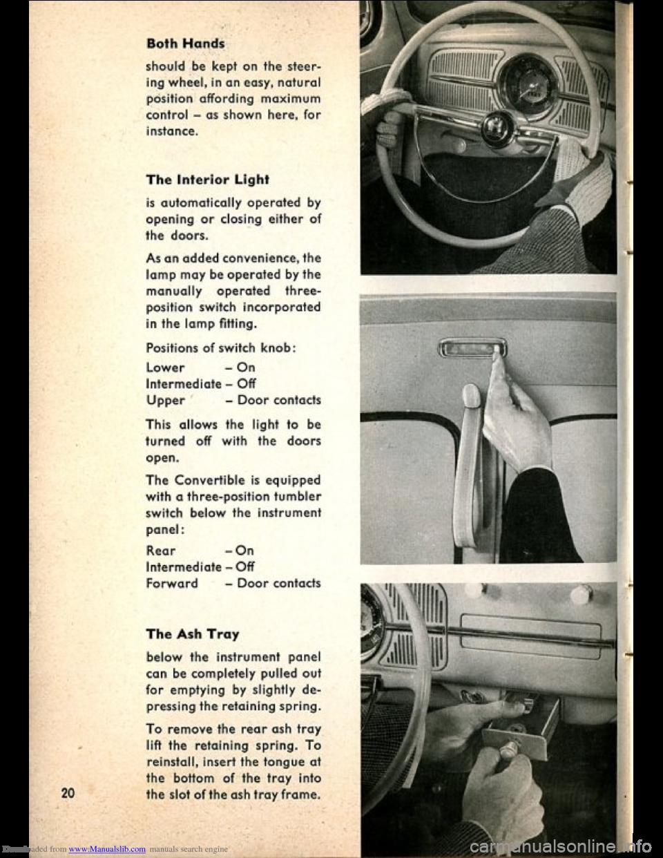 VOLKSWAGEN BEETLE 1960 1 G