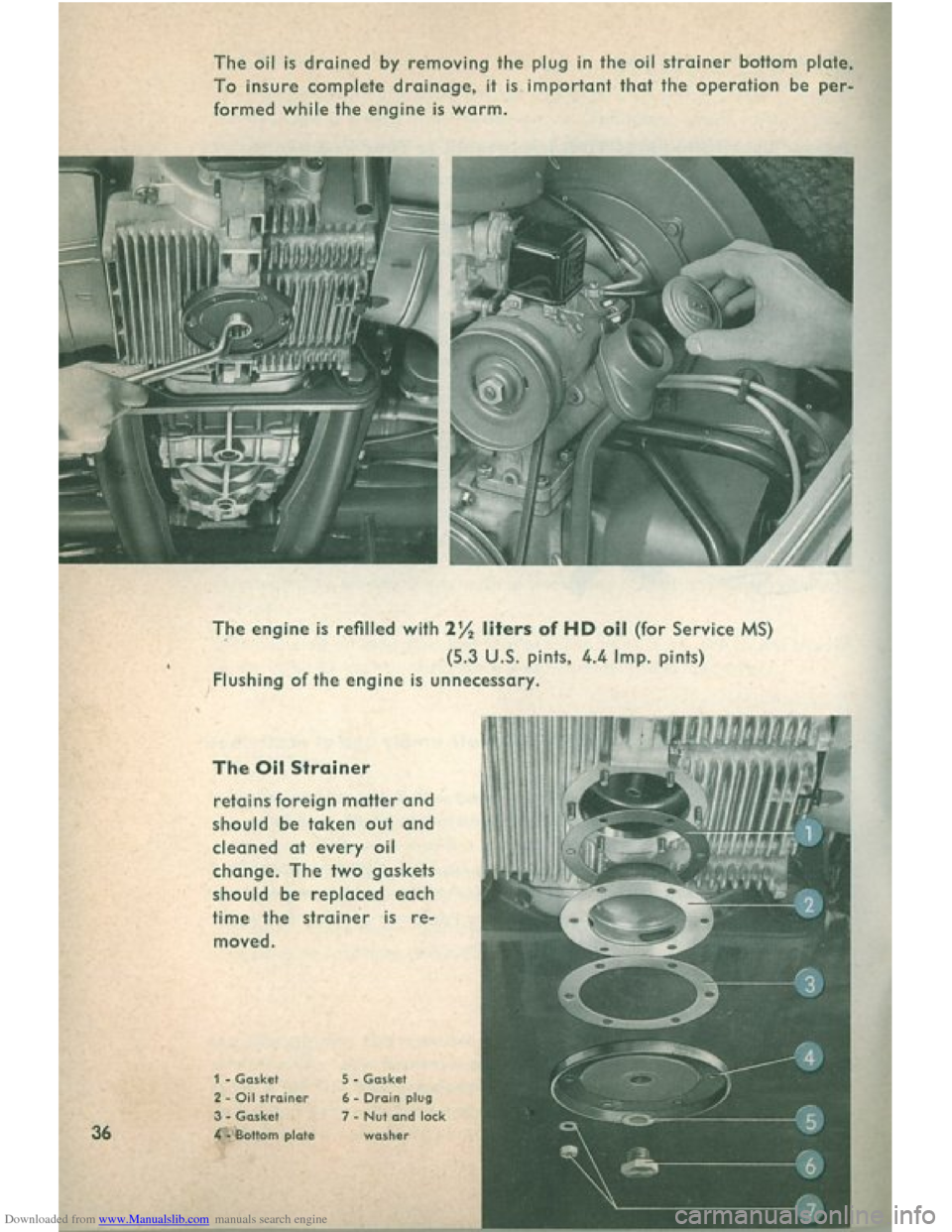 VOLKSWAGEN BEETLE 1960 1.G Owners Manual, Page 38