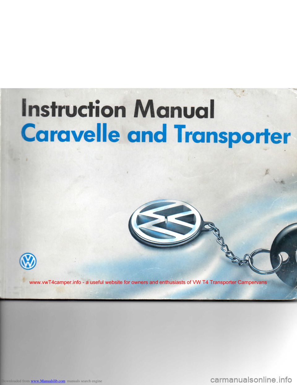 Volkswagen Caravelle 1992 T4 4g Owners Manual Vw Fuse Box For Sale