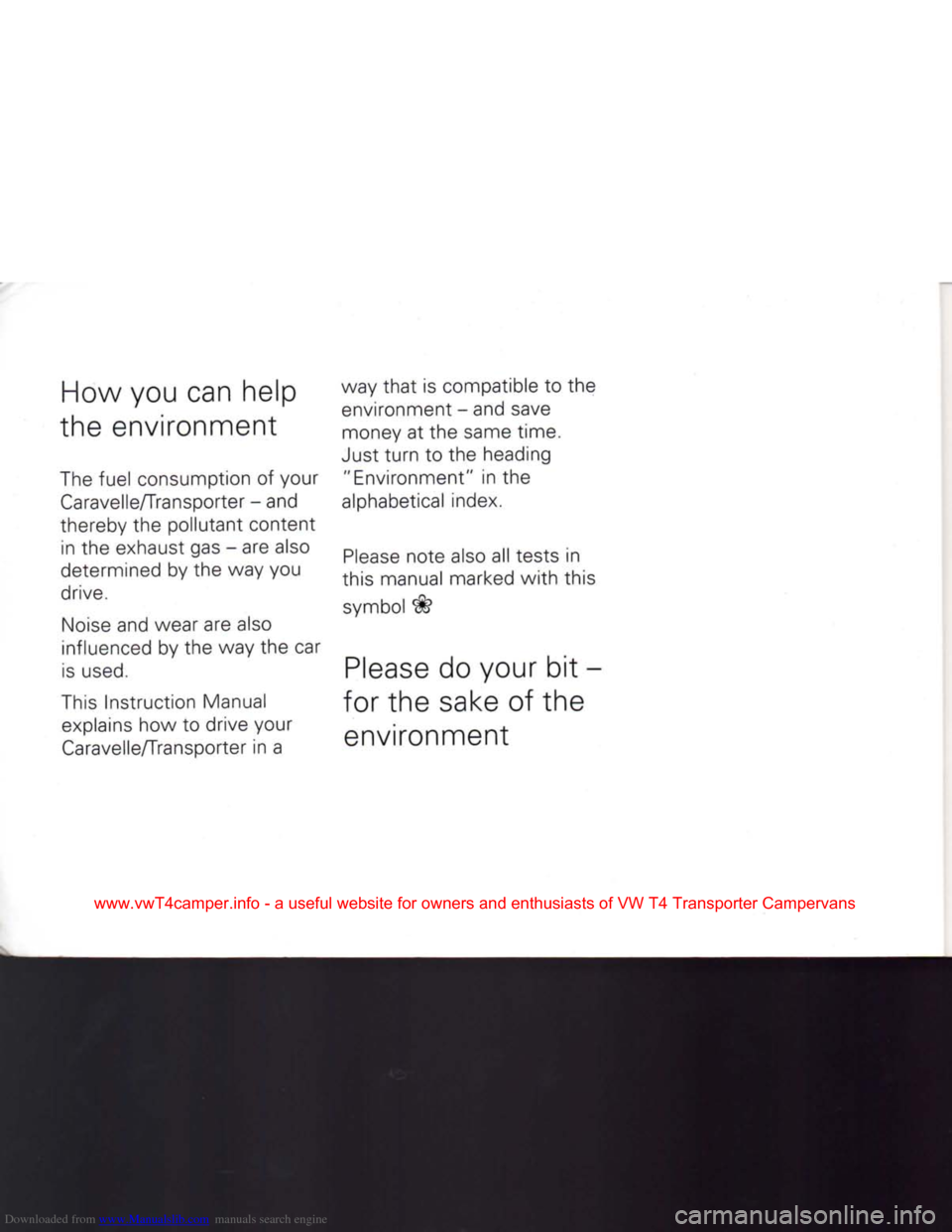 vw caravelle t4 manual pdf