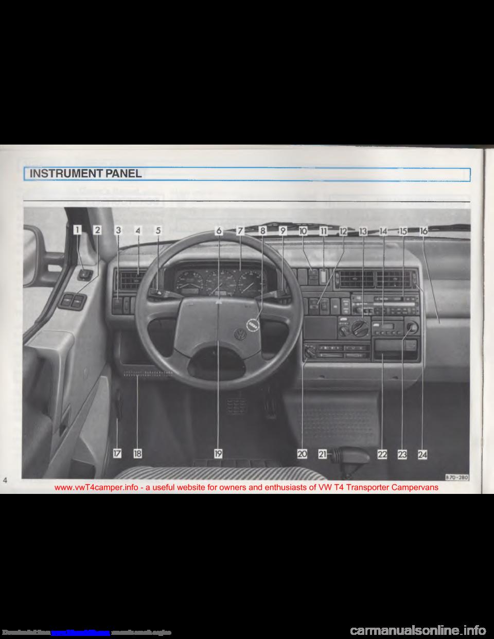 Vw Transporter T4 Owners Manual Pdf