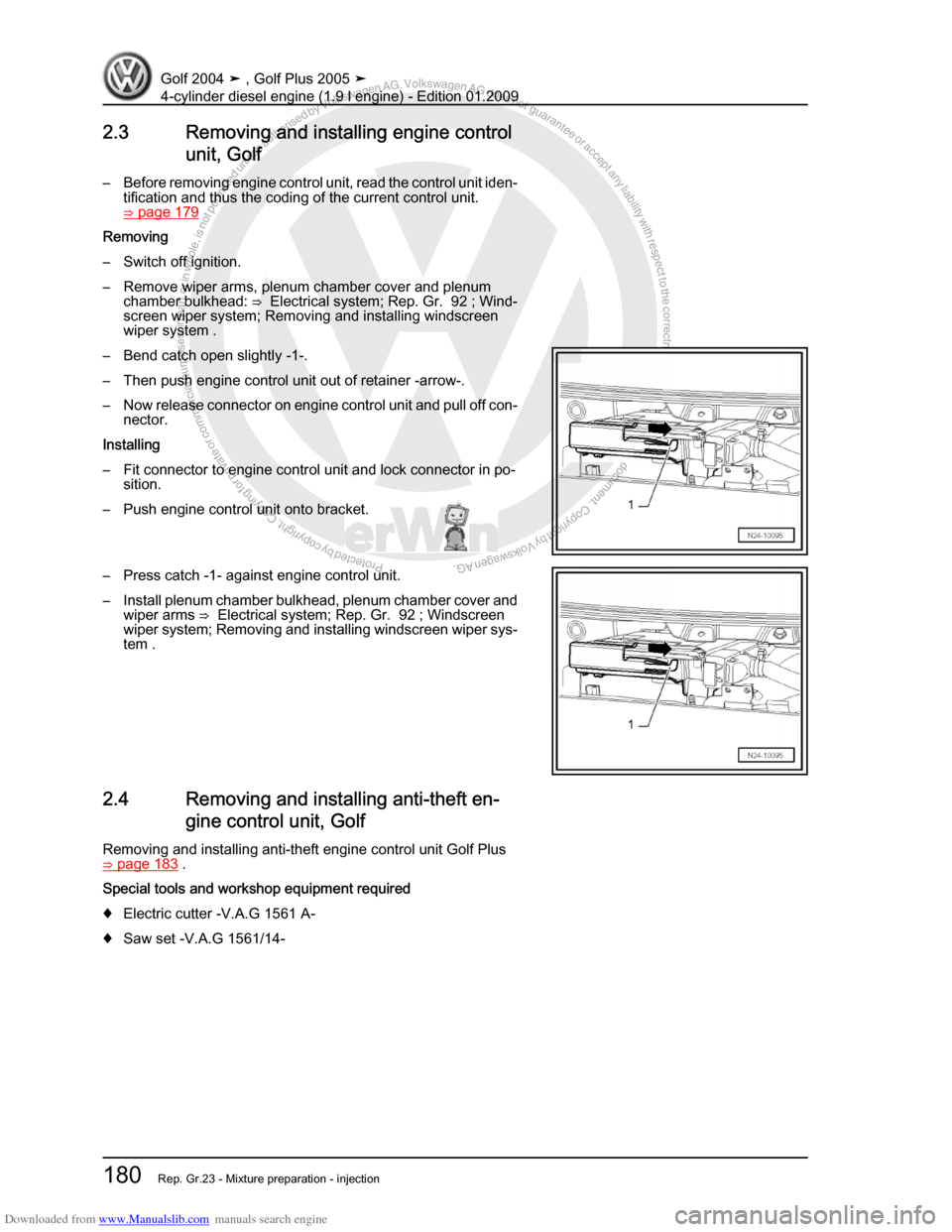 Vw Golf 4 2017 Workshop Manual