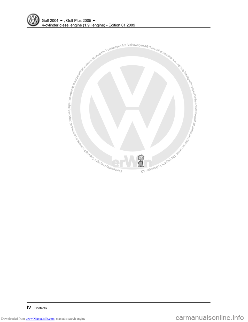 ... Array - volkswagen golf plus 2005 1k 5 g service workshop manual rh  carmanualsonline info
