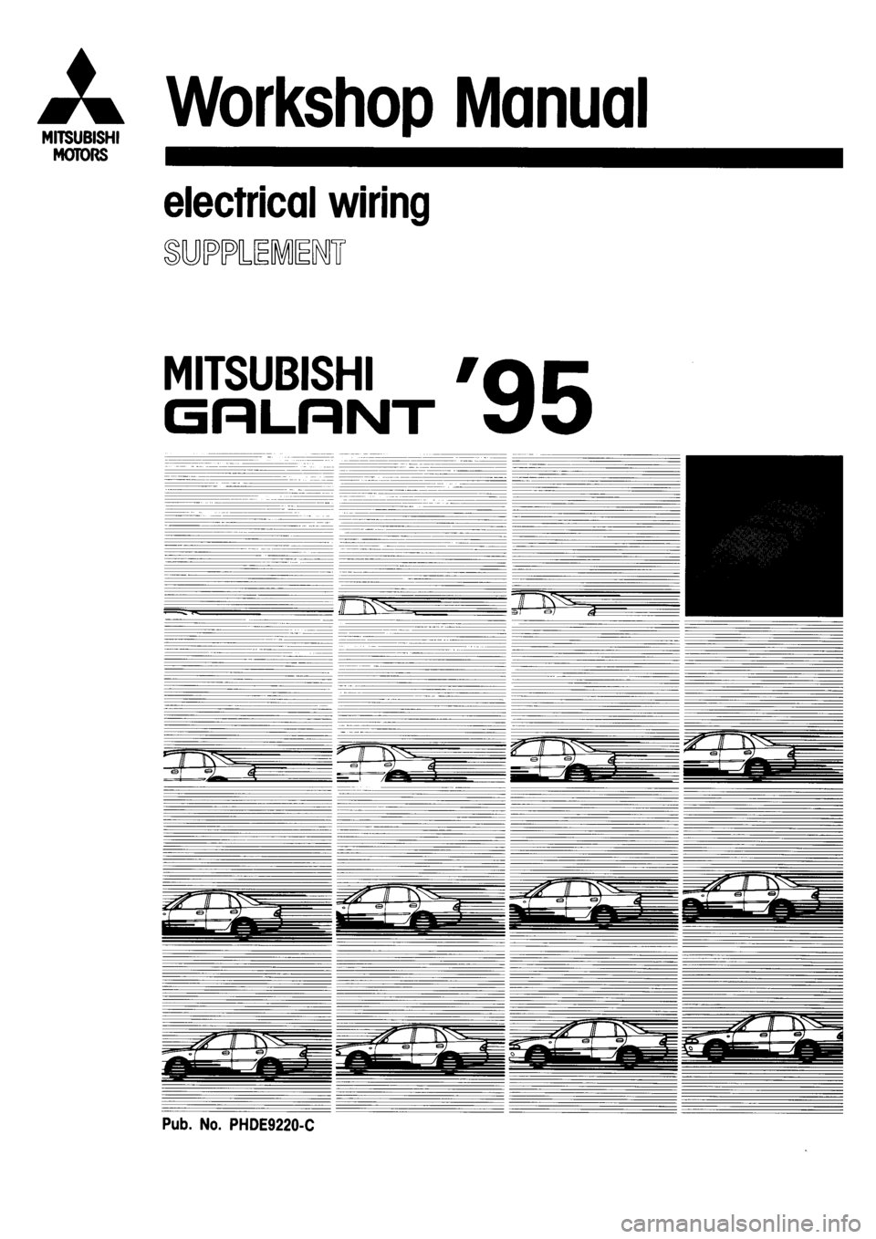 Mitsubishi galant 1995 7g electrical wiring diagram workshop manual g electrical wiring diagram workshop manual swarovskicordoba