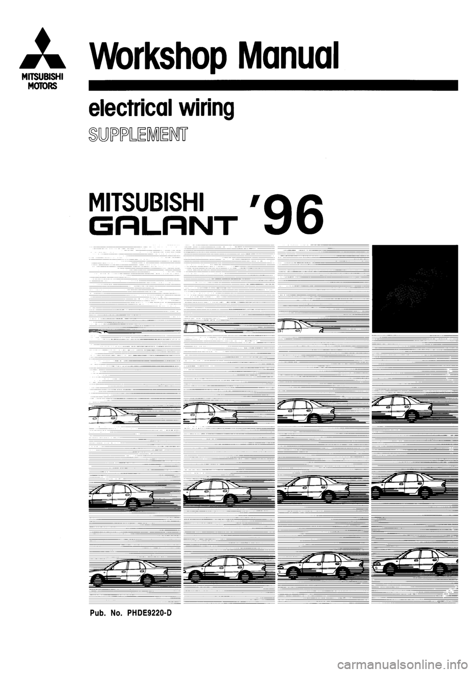Mitsubishi galant 1996 7g electrical wiring diagram workshop manual asfbconference2016 Images