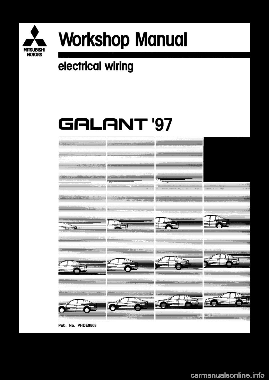 1999 mitsubishi galant wiring diagram schematic mitsubishi galant 1997 8.g electrical wiring diagram ... mitsubishi galant wiring diagram pdf #15