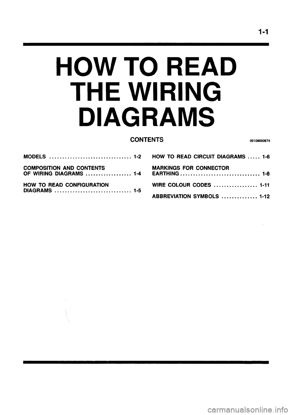 MITSUBISHI GALANT 1997 8.G Electrical Wiring Diagram Workshop Manual