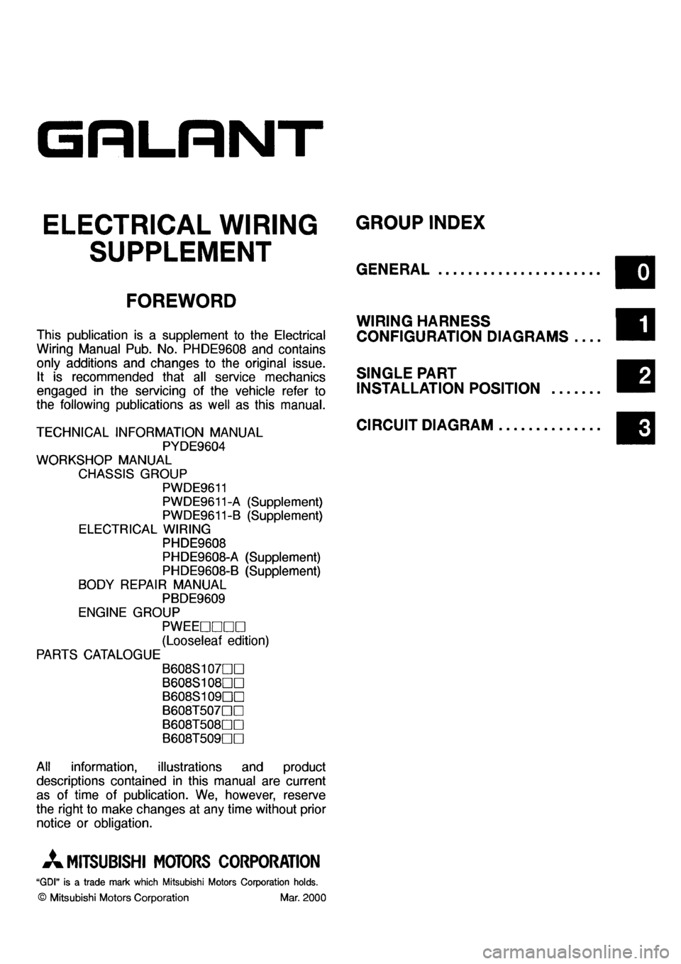 Mitsubishi galant 2001 8 g electrical wiring diagram workshop manual on wiring diagram mitsubishi galant 2001 Mitsubishi Radio Wiring Diagram 2001 Mitsubishi Galant Starter Schematics