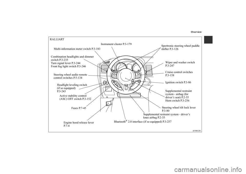 2013 mitsubishi lancer owners manual