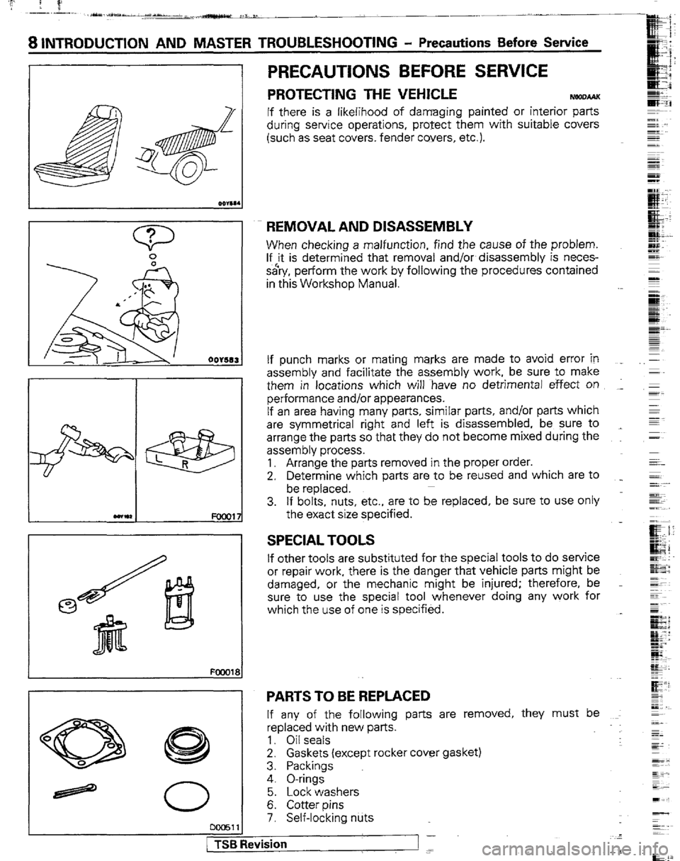 Mitsubishi montero 1989 1g workshop manual g workshop manual page 8 a iv sciox Images