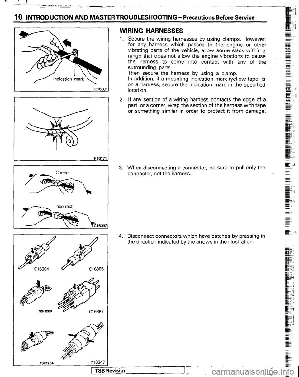 Mitsubishi Montero 1989 1g Workshop Manual 89 Wiring Diagram