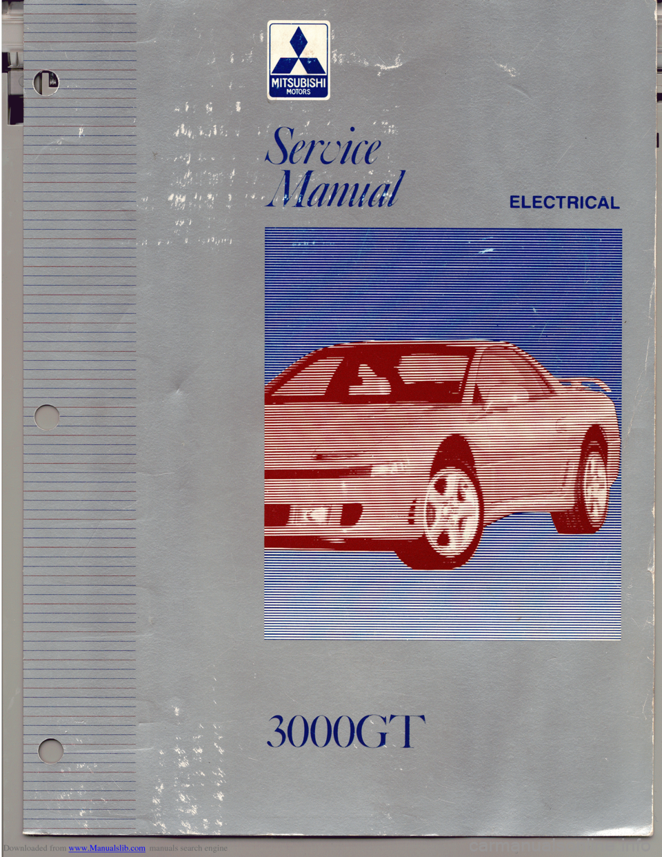 MITSUBISHI 3000GT 1993 2.G Workshop Manual, Page 1