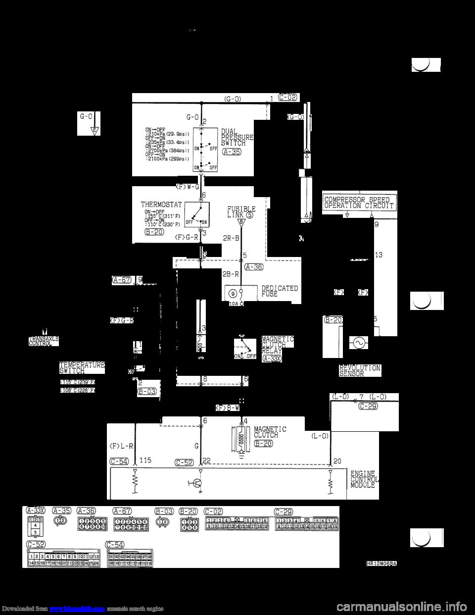 Engine Coolant Mitsubishi 3000gt 1994 2g Workshop Manual Spark Plug Diagram Wiring Schematic Page 284