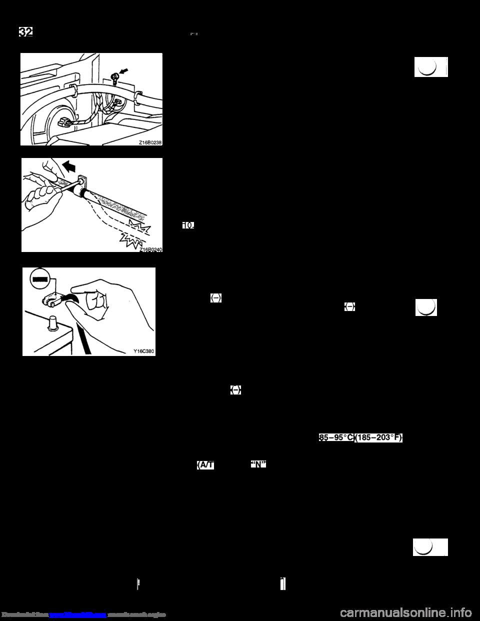 check engine MITSUBISHI 3000GT 1994 2.G Workshop Manual