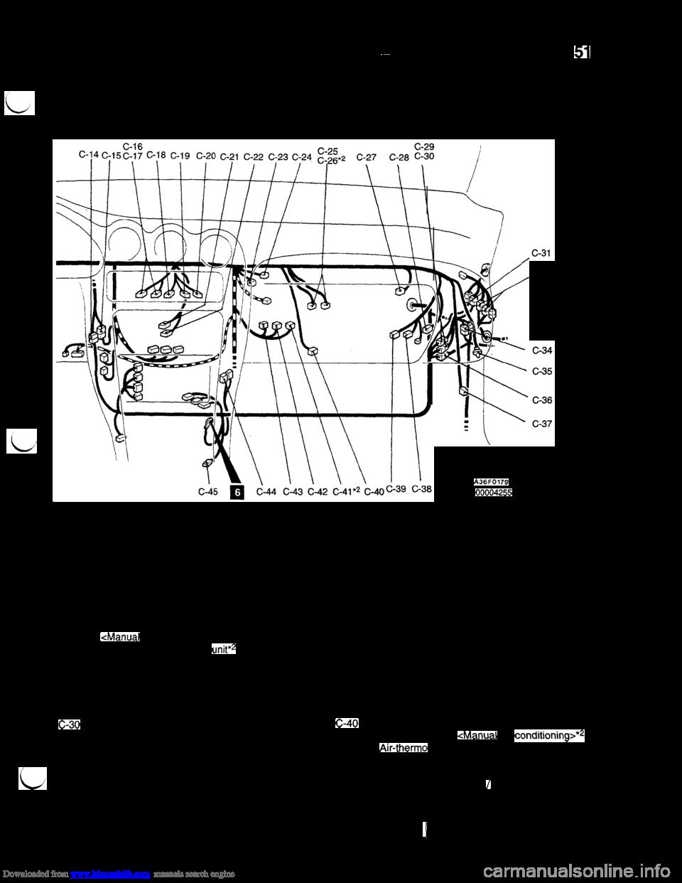 mitsubishi 3000gt 1994 2 g workshop manual, page 53
