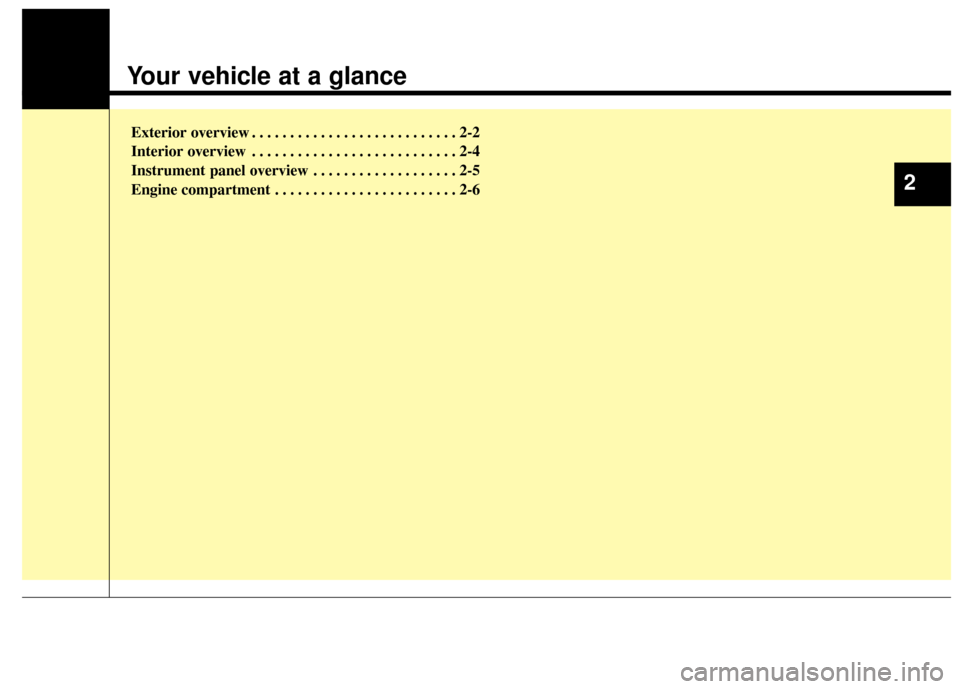 KIA Cadenza 2014 1.G Owners Manual, Page 9