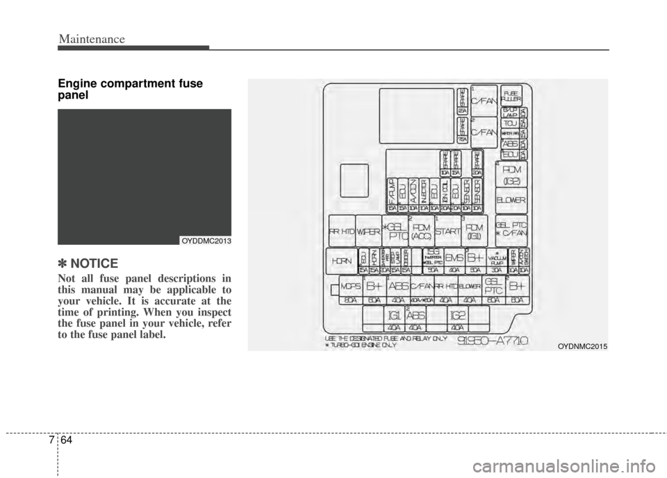 kia cerato 2014 2 g owners manual, page 412