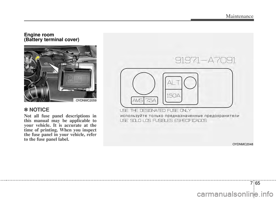kia cerato 2014 2 g owners manual, page 413