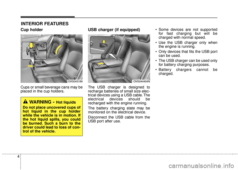 KIA Cadenza 2015 1.G Owners Manual, Page 9