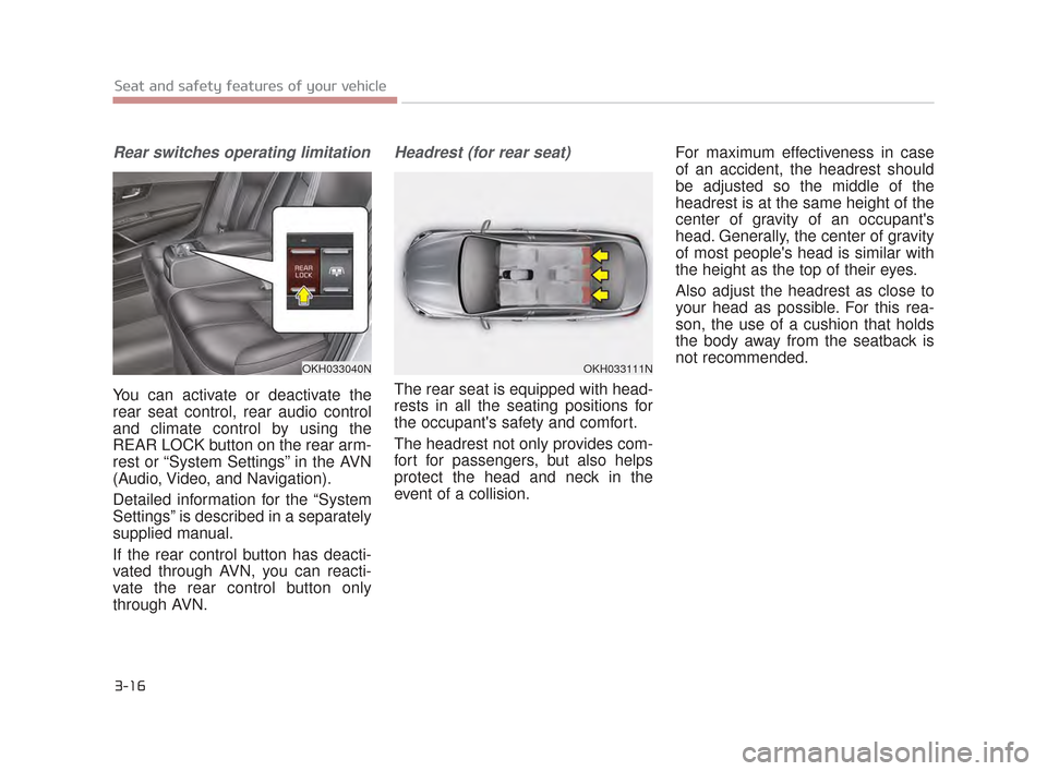 KIA K900 2015 1.G Owners Guide, Page 33