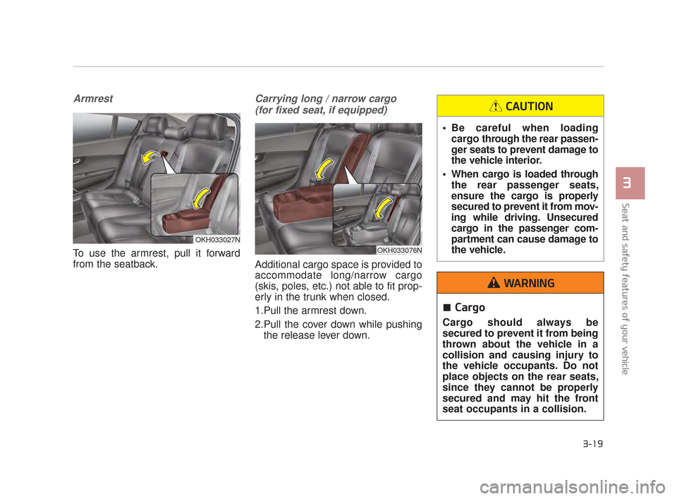 KIA K900 2015 1.G Owners Guide, Page 36