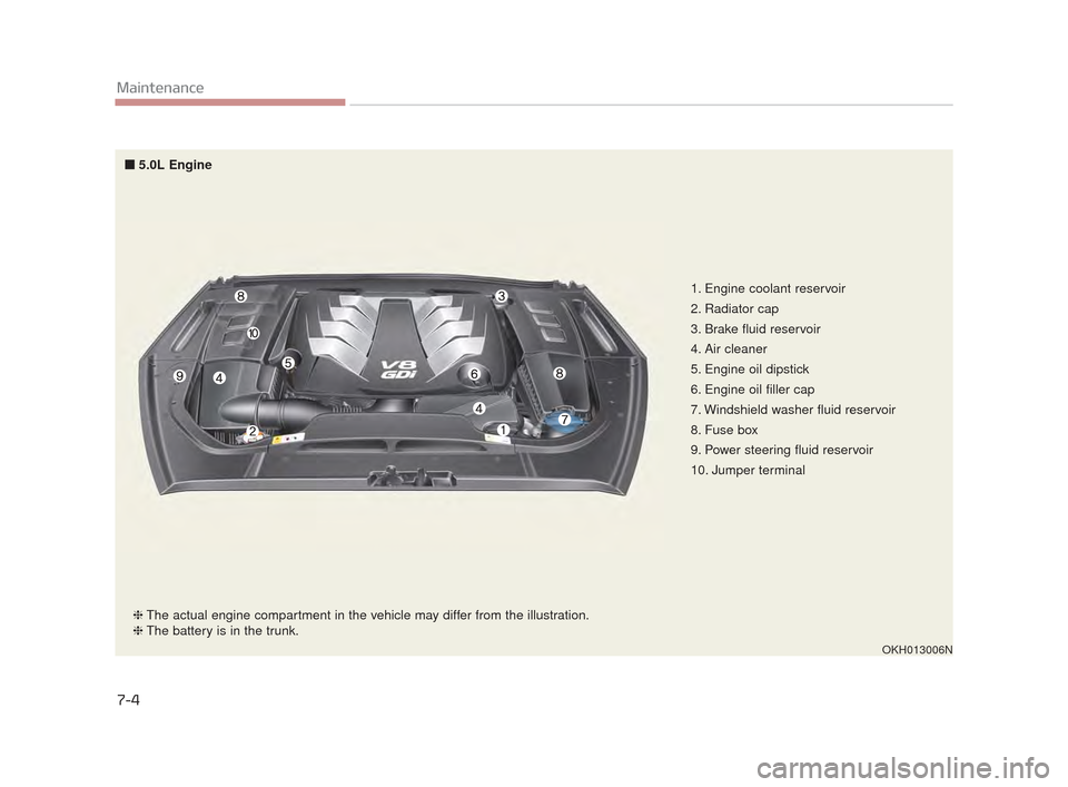 KIA K900 2015 1.G Owners Manual, Page 400