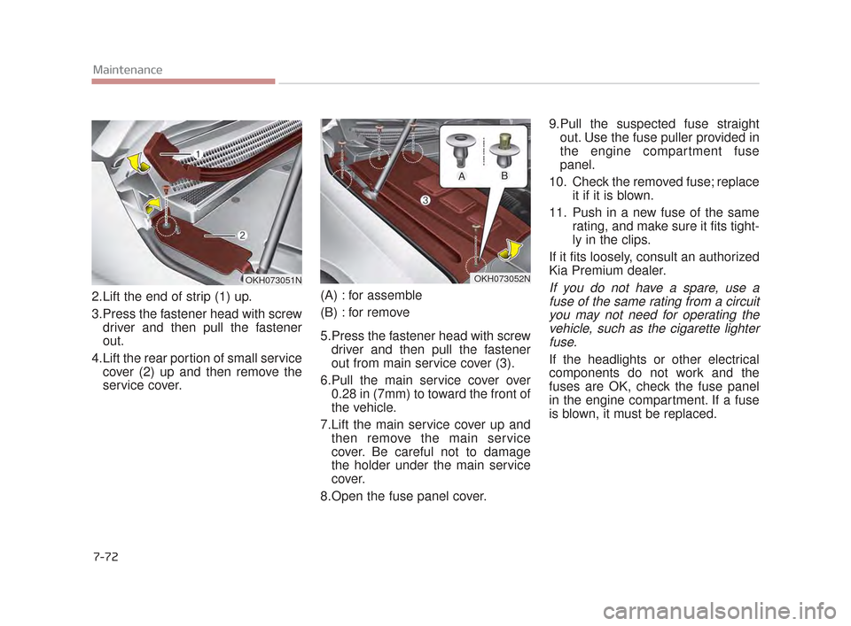KIA K900 2015 1.G Owners Manual, Page 468