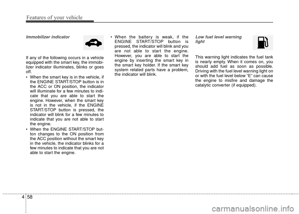 KIA Rio 2015 3.G Owners Manual, Page 124