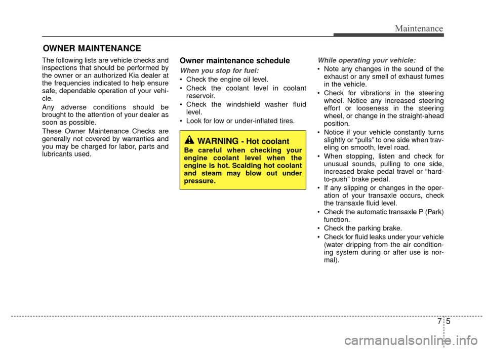 KIA Rio 2015 3.G Owners Manual, Page 316