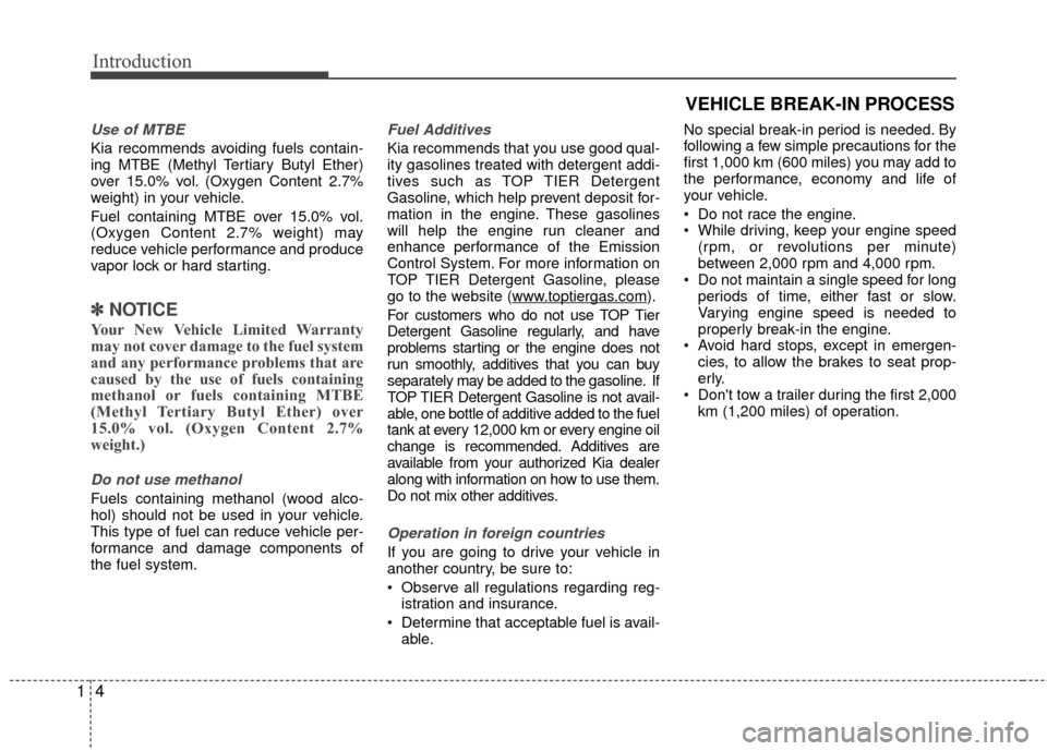 KIA Rio 2015 3.G Owners Manual, Page 7