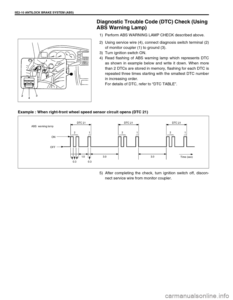 SUZUKI GRAND VITARA 2001 2.G Owners Manual, Page 135