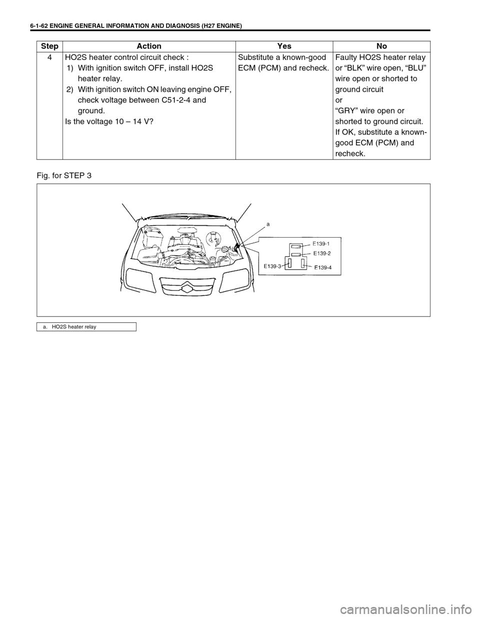 SUZUKI GRAND VITARA 2001 2.G Owners Manual, Page 223